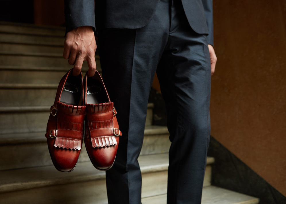 What Makes Santoni Shoes Special   The Rake