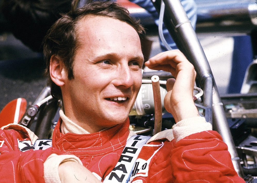 OUT OF THE FIRE: Niki Lauda   The Rake