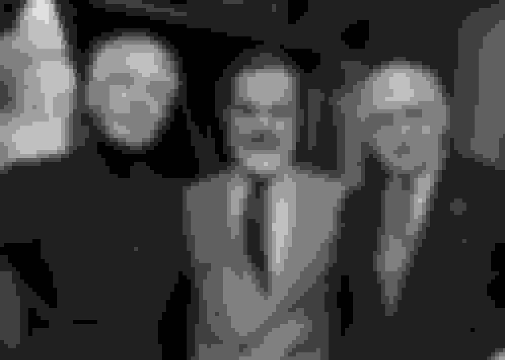 Tailors Edward Sexton, Lorenzo Cifonelli and Antonio Panico.