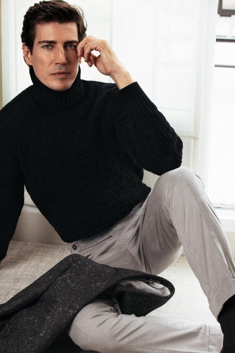 Light Grey Corduroy Trousers