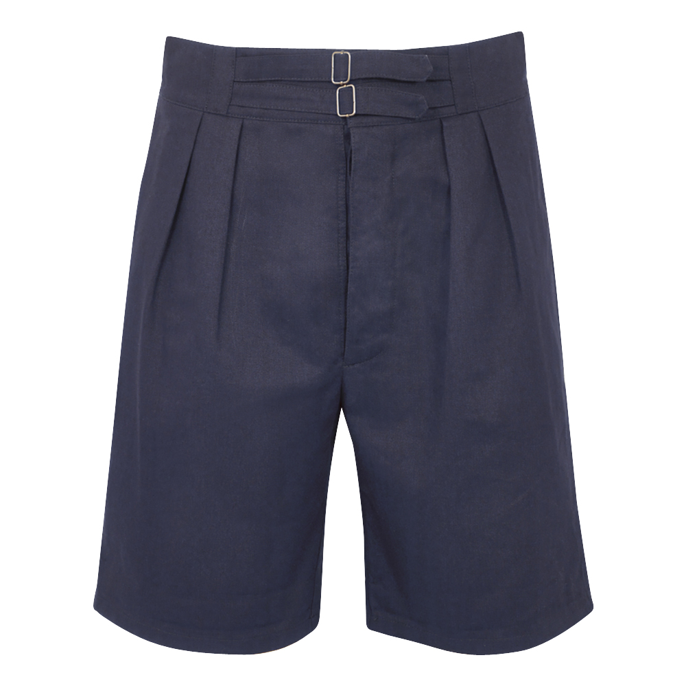 Navy Cotton SOII Safari Shorts