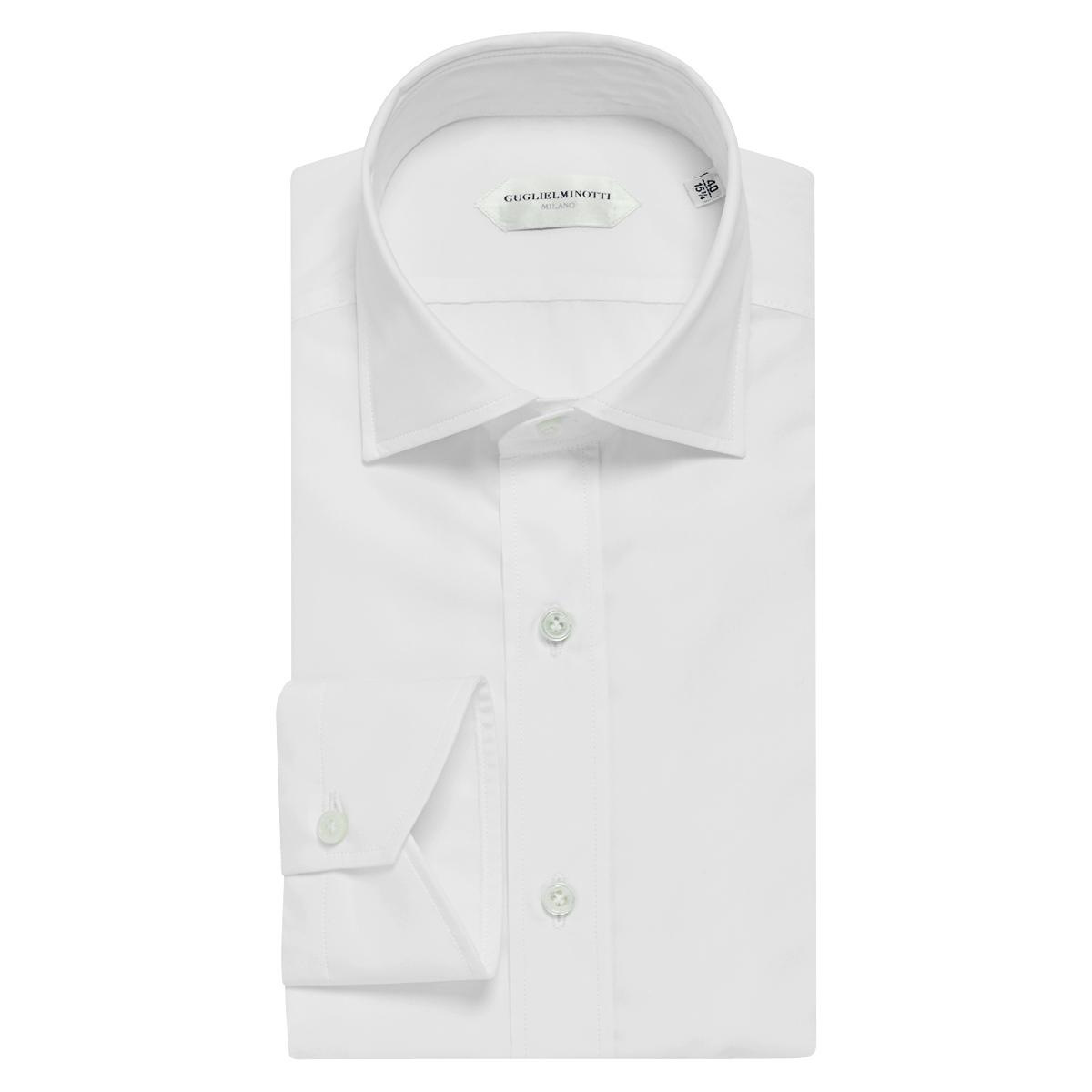 White Cotton Classic Shirt