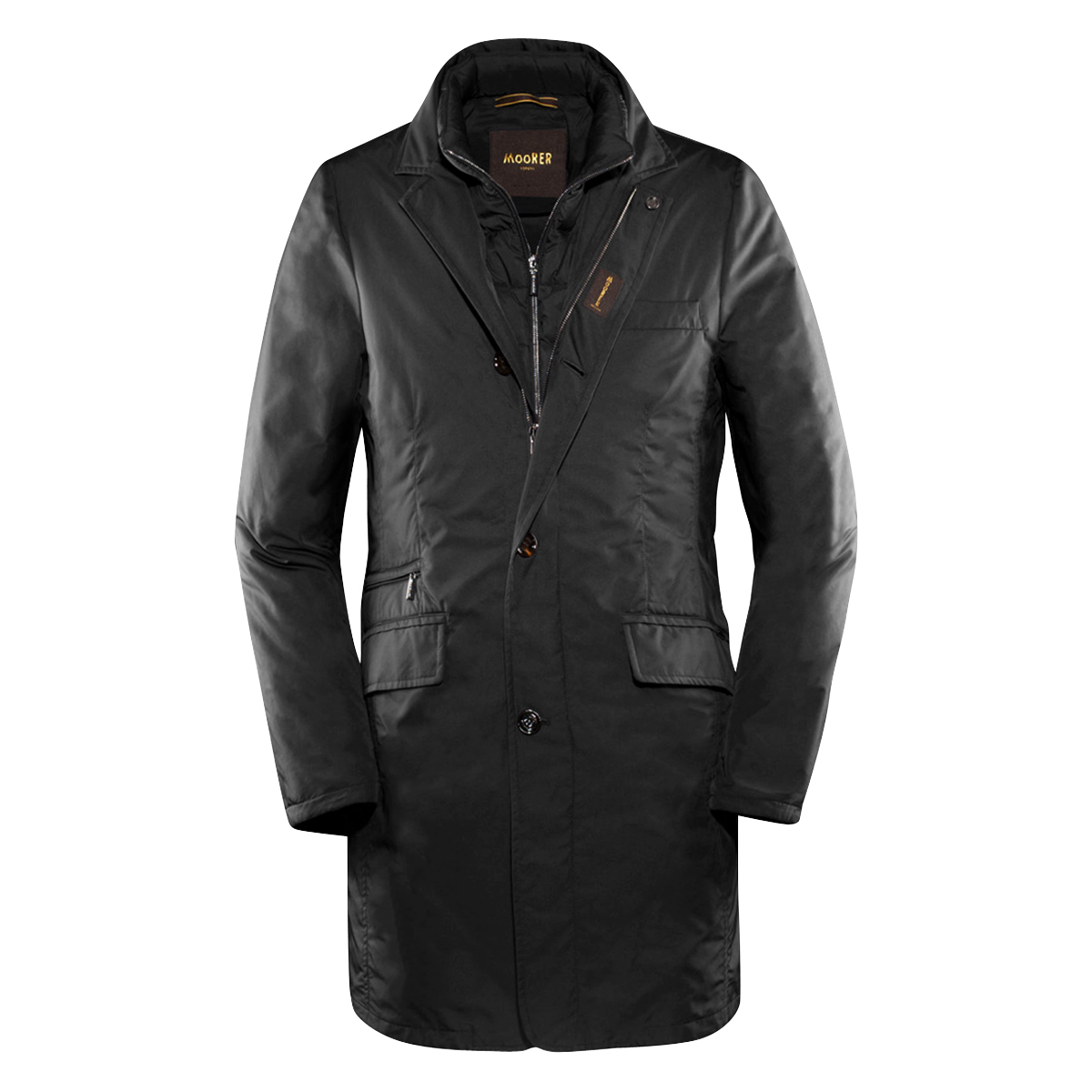 Black Detachable Shinjuku Coat