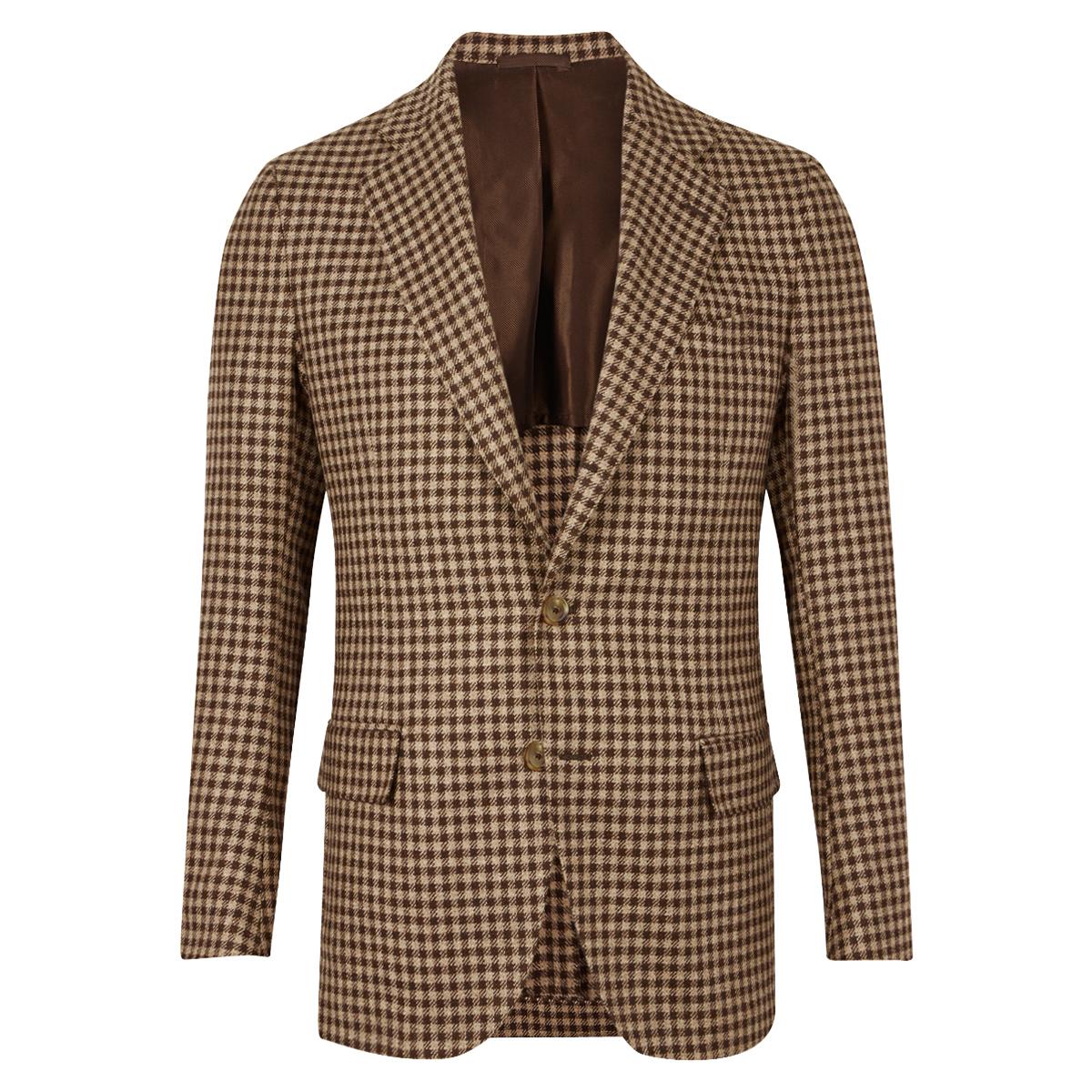 Brown And Beige Jacket