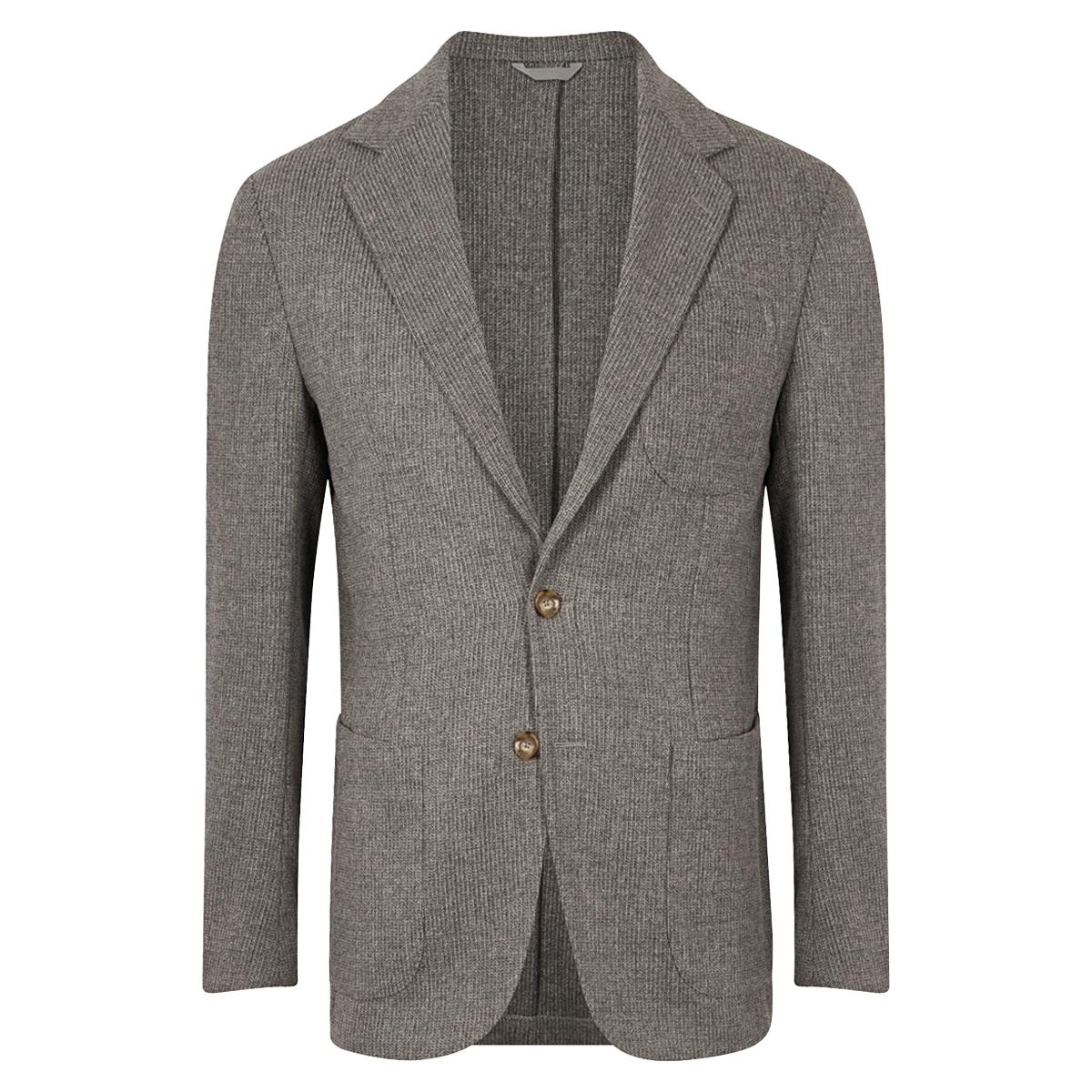 Grey Patch Pocket Jacket