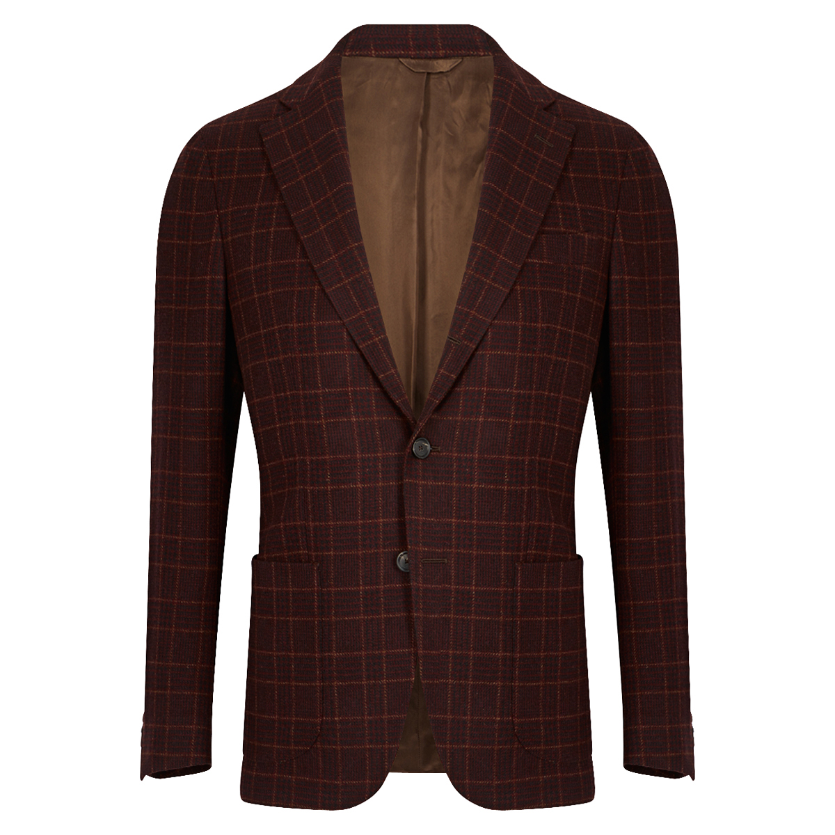 Dark Brown Prince of Wales Jacket