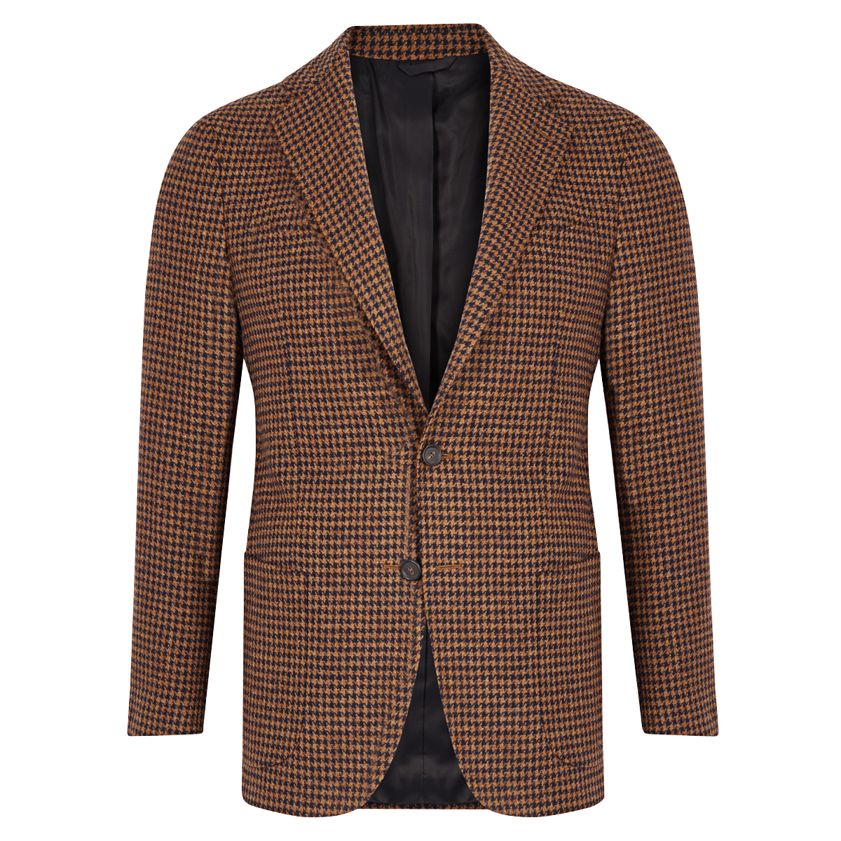 Light Brown Houndstooth Jacket
