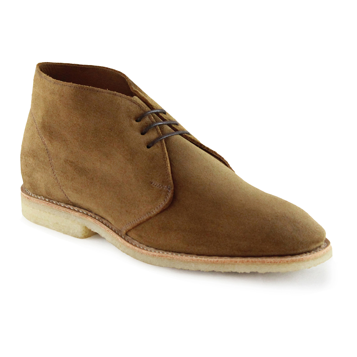 Tobacco Suede Unlined Marvin Chukka Boot