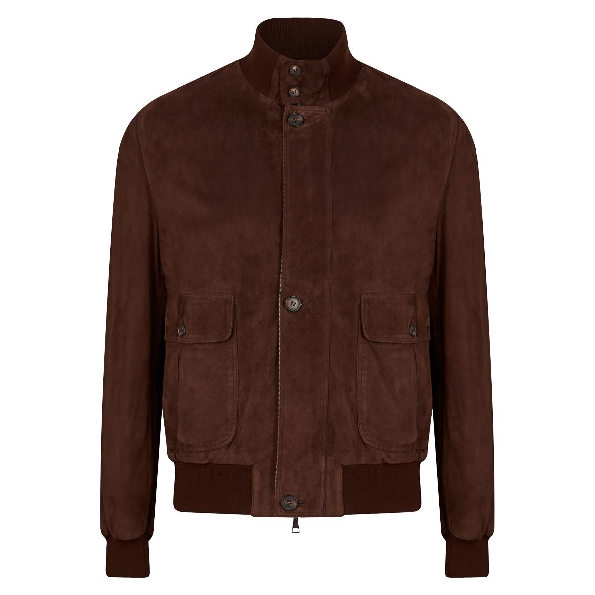 Brown Suede A1 Jacket
