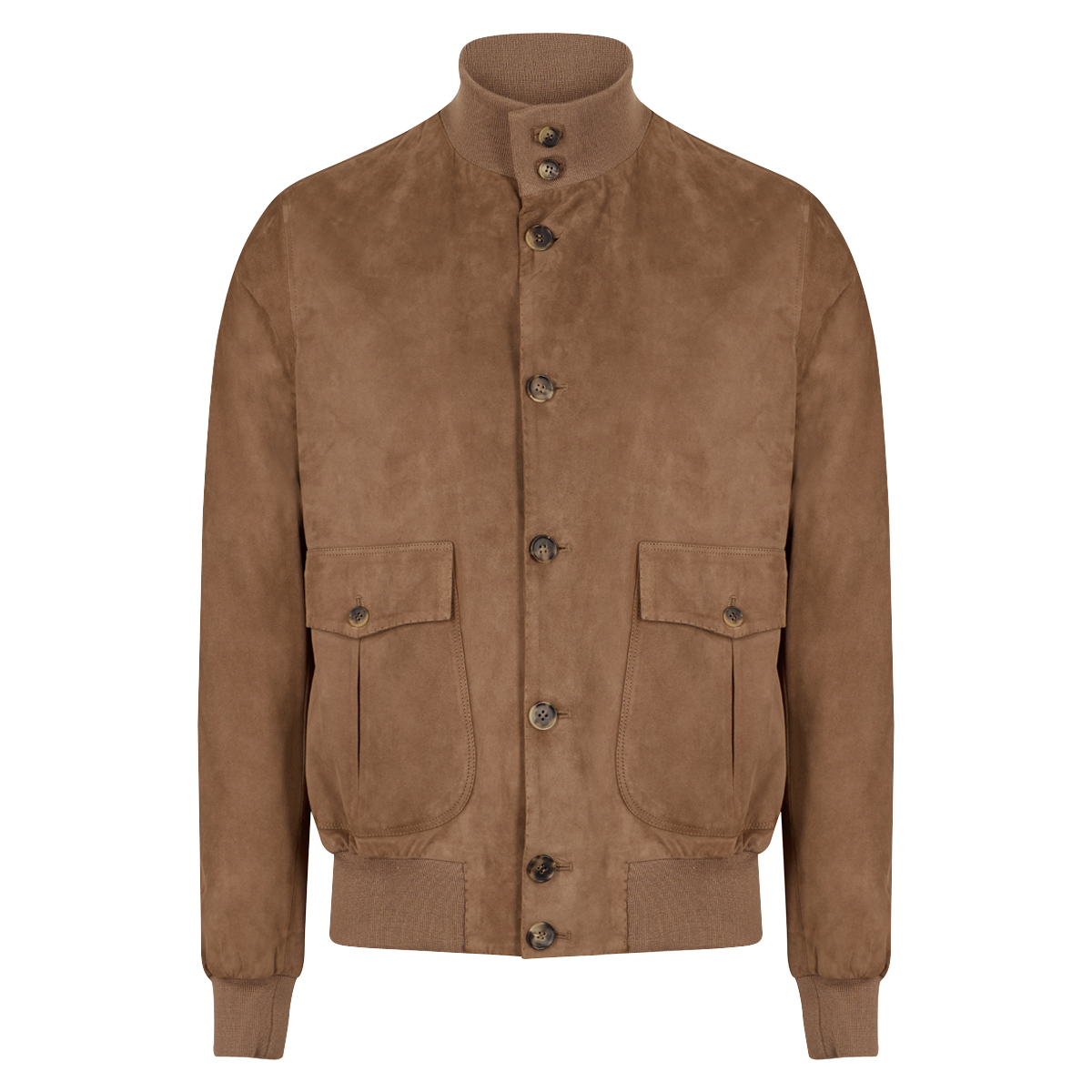 Light Brown Suede A1 Jacket