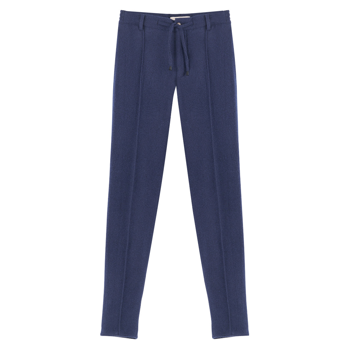 Navy Cashmere Drawstring Pants