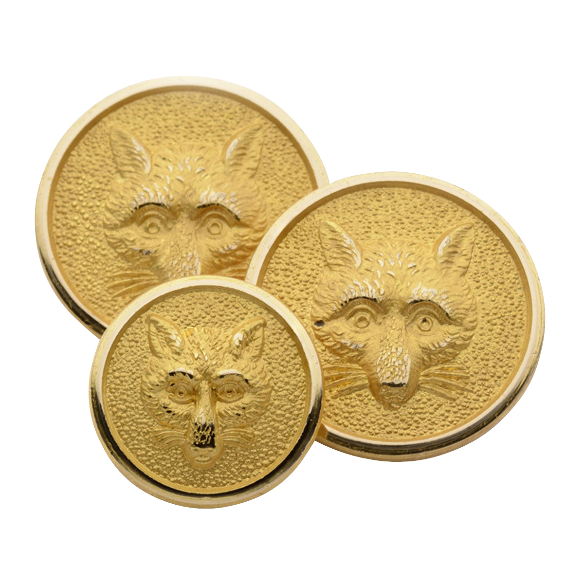 Fox Mask Single Breasted Blazer Button Set