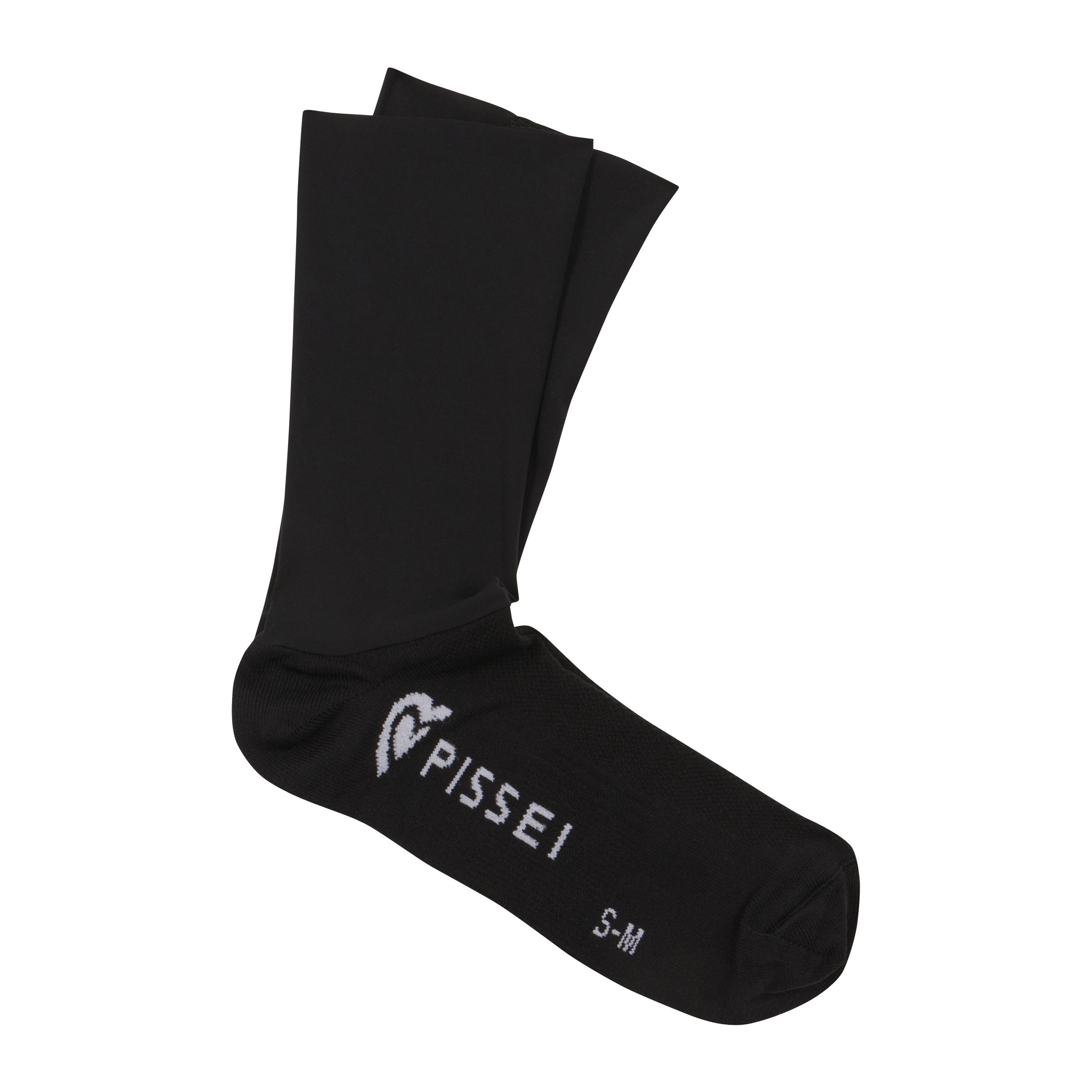 The Rake Riders Black Woolskin Custom Summer Socks