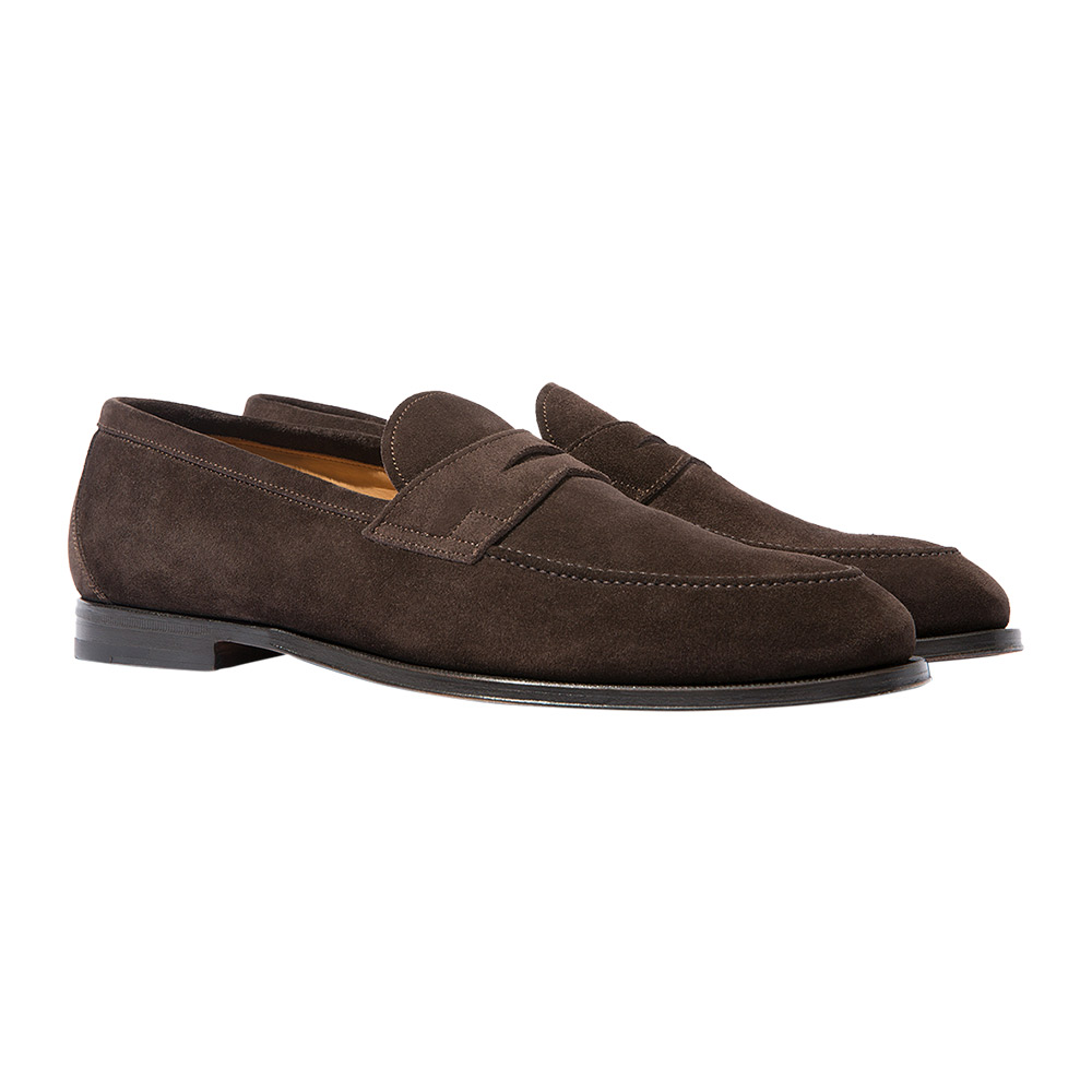 Stefano Moro Suede Penny Loafers