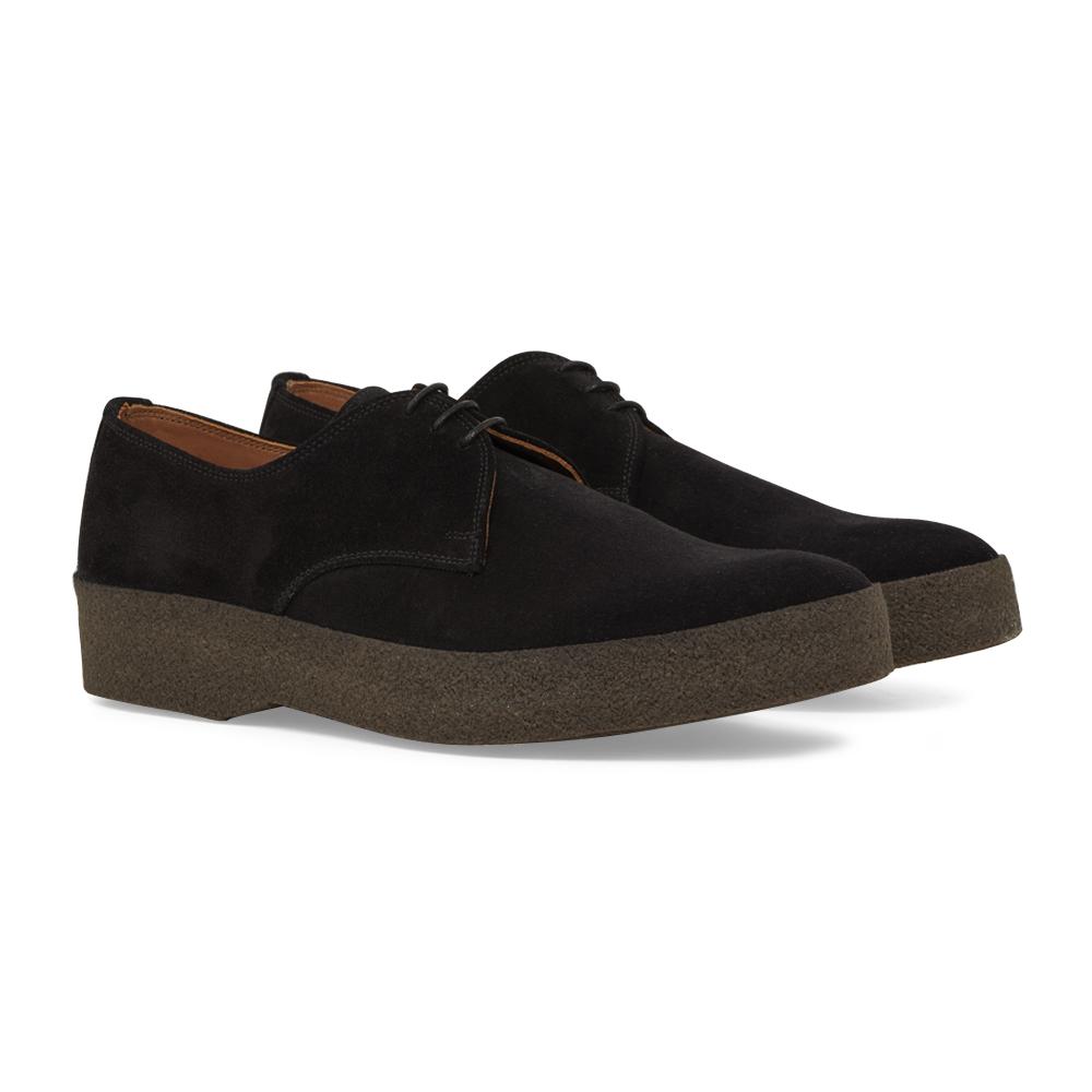 Black Suede Gibson Shoe