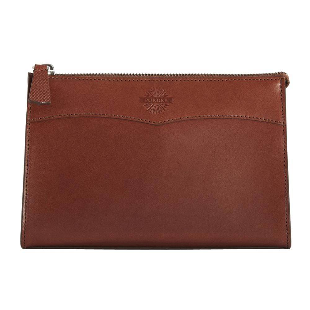 Havana Leather Medium Washbag