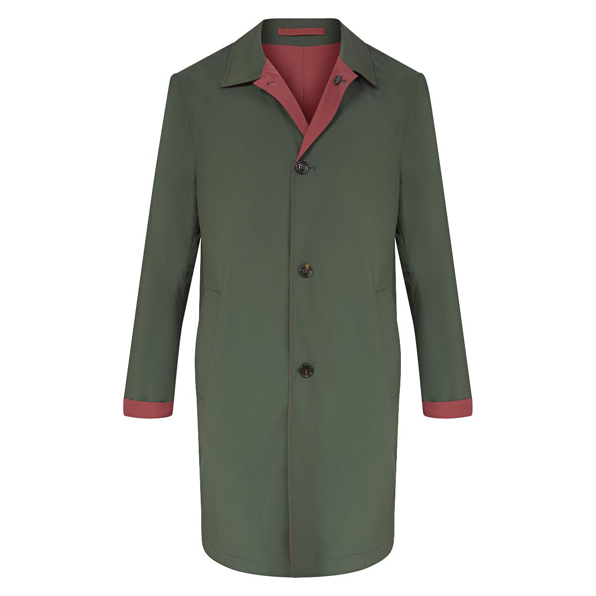 Green Reversible Ben Coat