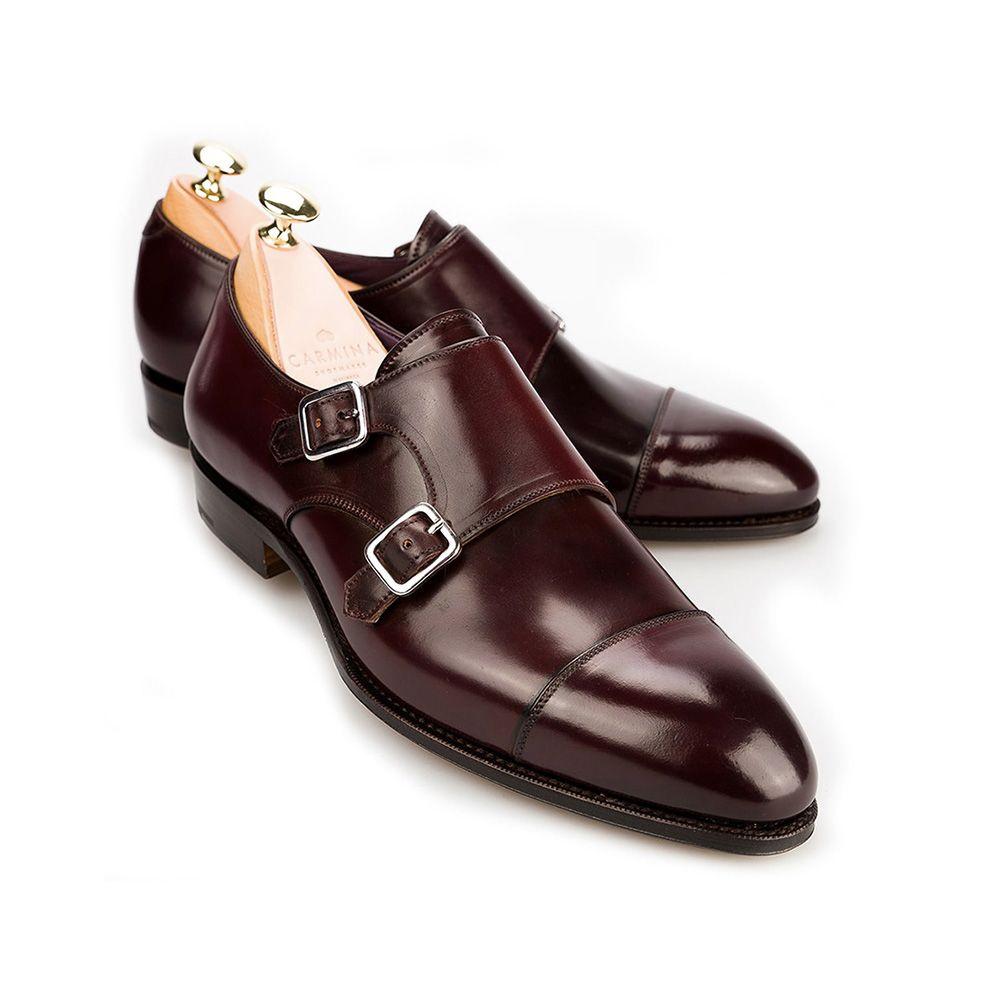 Carmina Burgundy Cordovan Leather