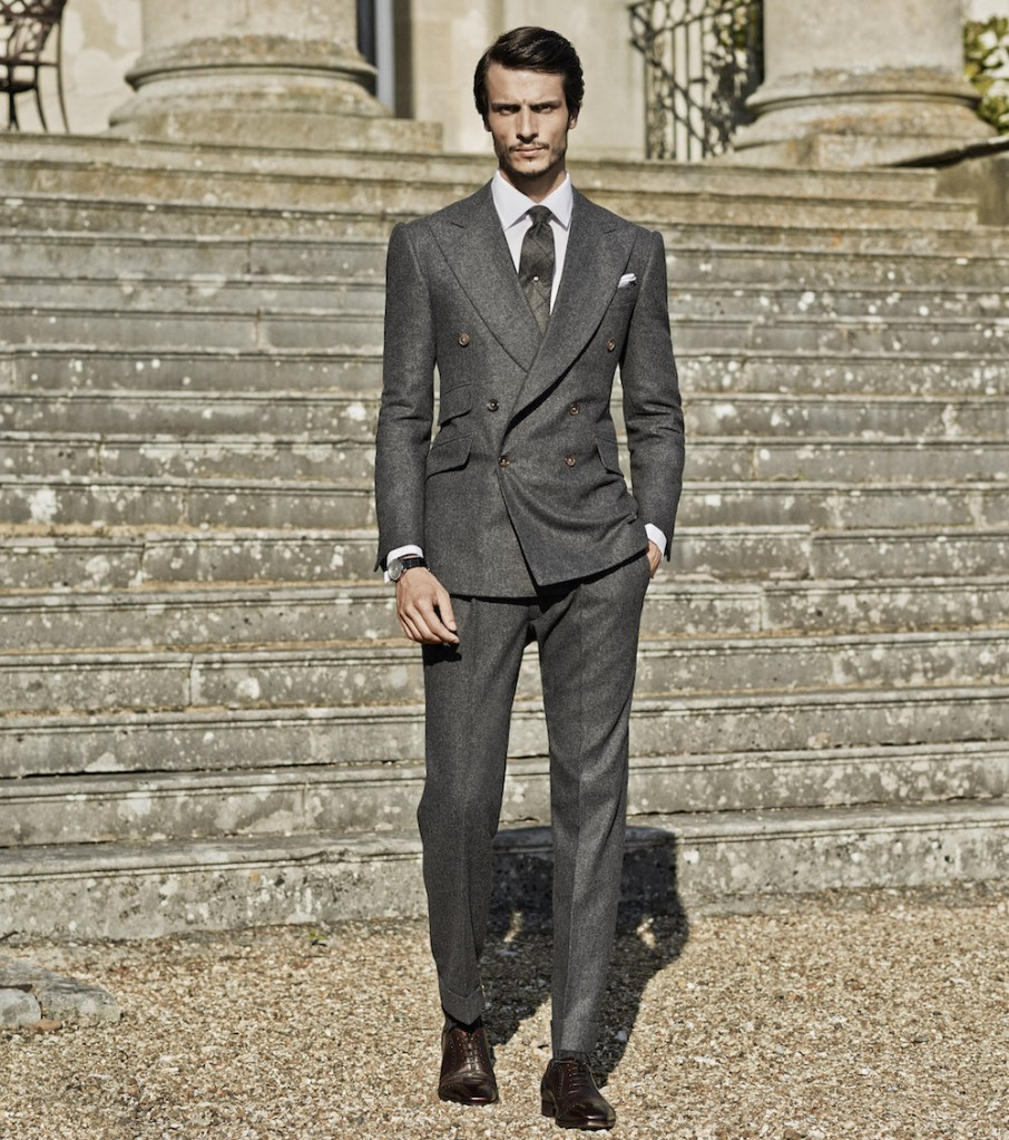 Cifonelli Bespoke Double-Breasted Suit, The Rake magazine