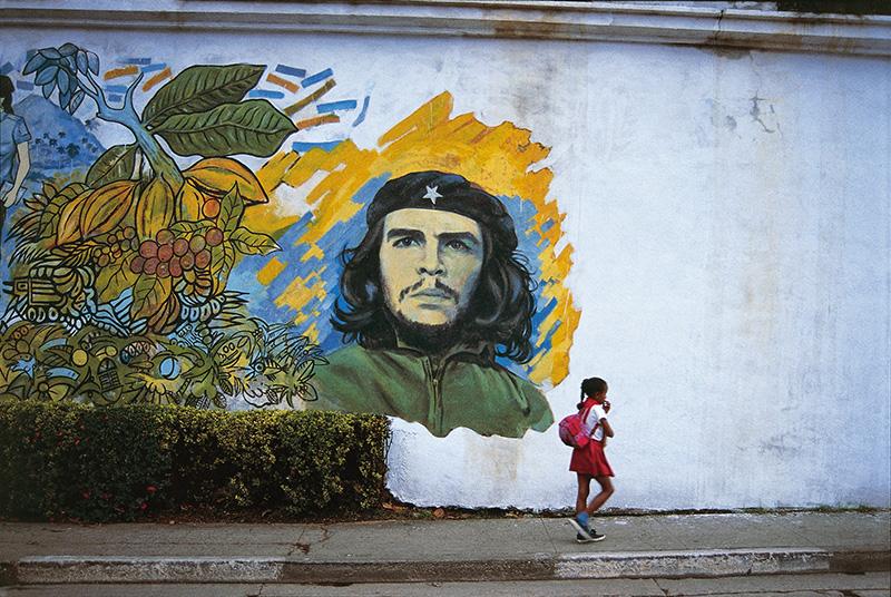 Che Guevara mural,       Havana, The Rake