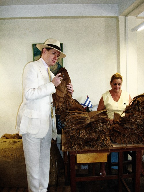 Nick Foulkes     in Havana Cigar Emporium, The Rake