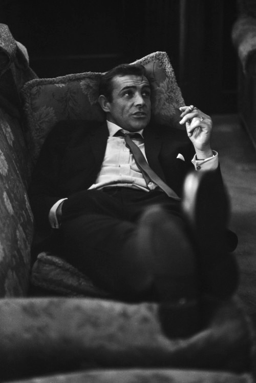 Sean       Connery shirt cuff, The Rake.