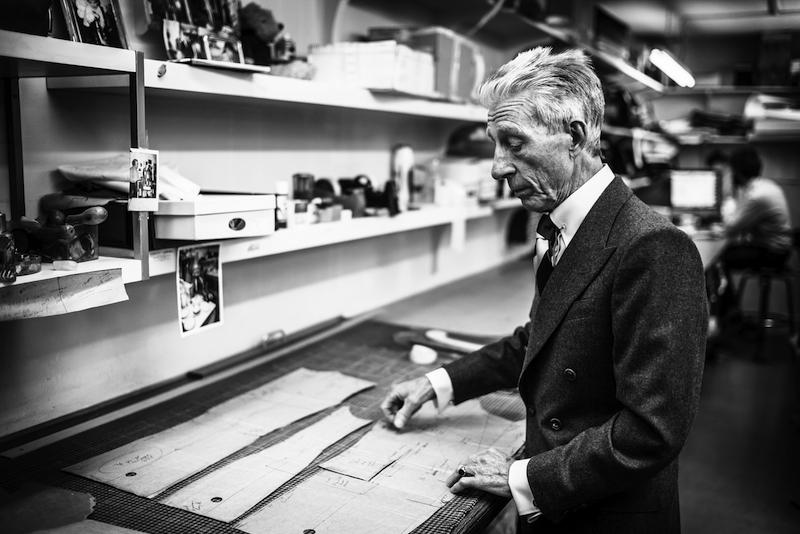 Edward Sexton in his Studio, The Rake
