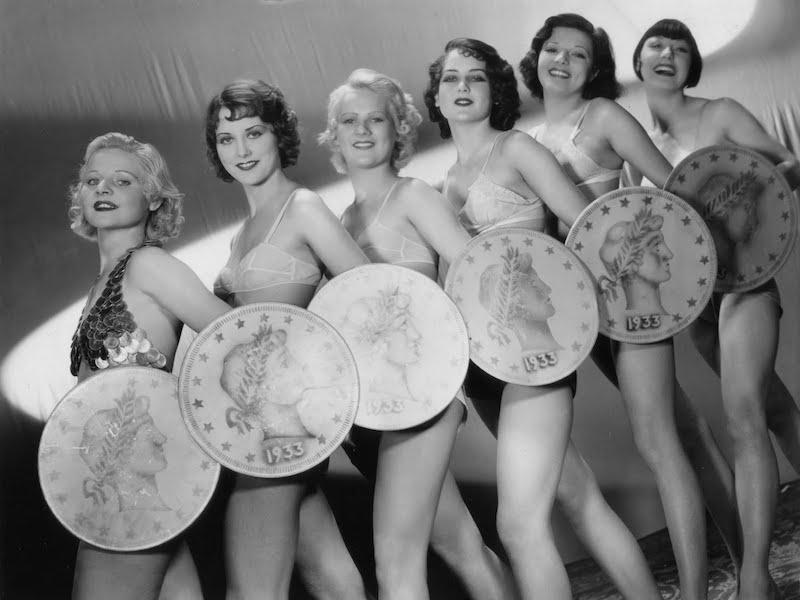 gold diggers     1933