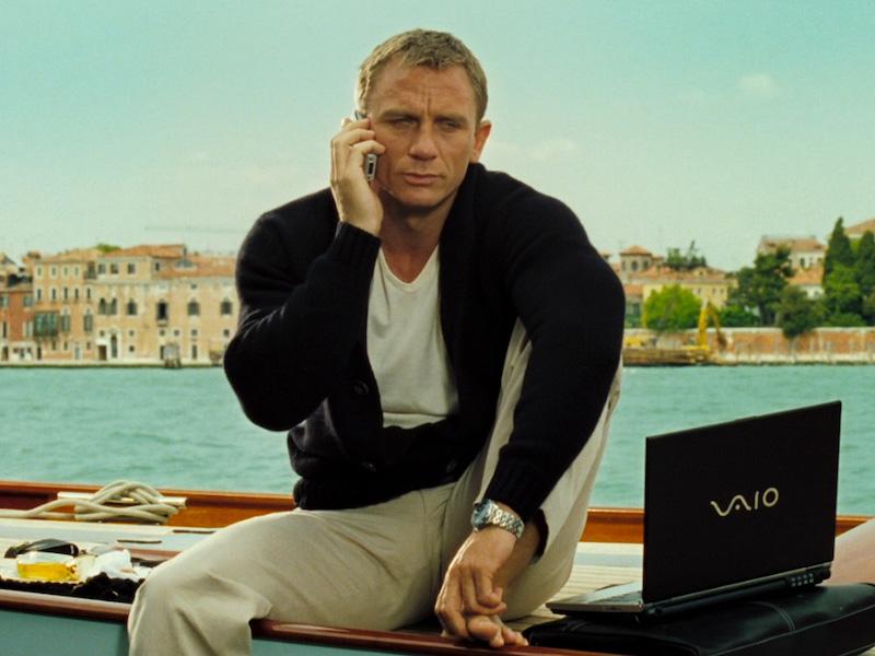 The Rake, Casino Royale Daniel Craig