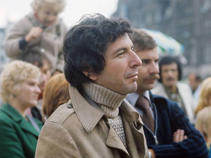 The Rake, Roll Necks, Leonard Cohen