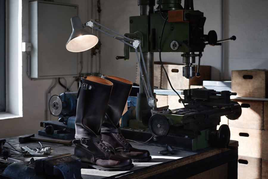 ludwig reiter, factory, leather, shoes