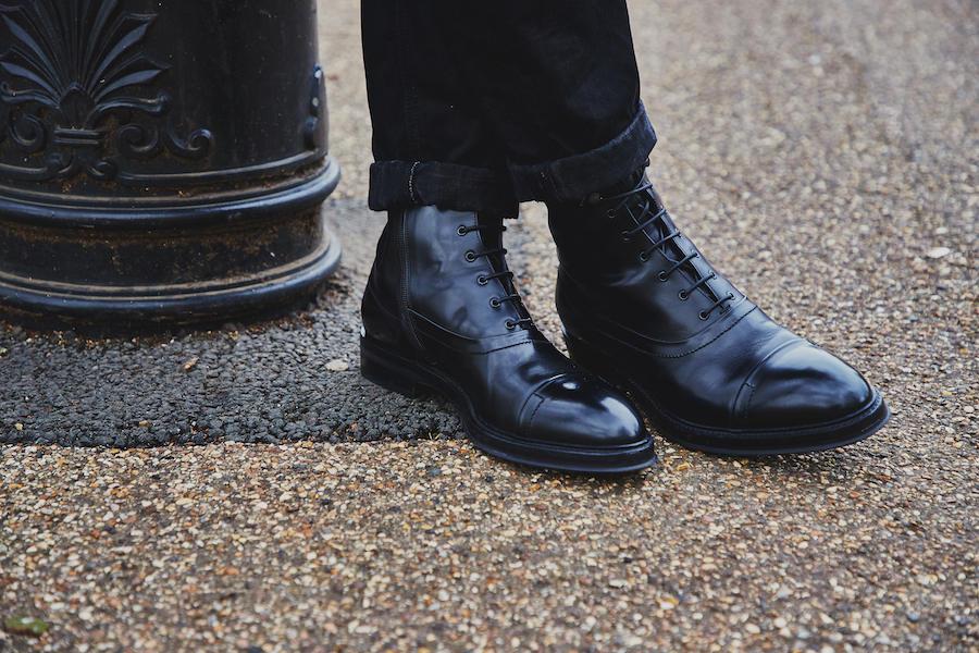 the rake,       boots