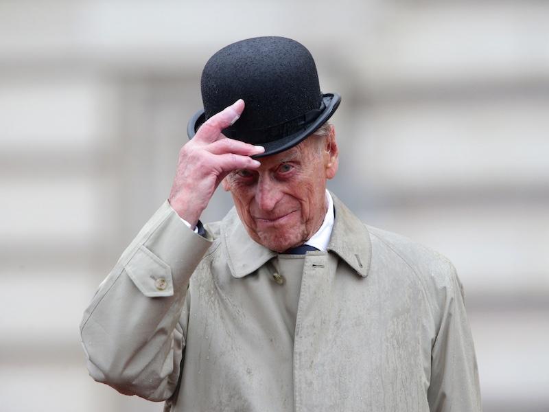 The Rake, Prince Philip, Bowler Hat