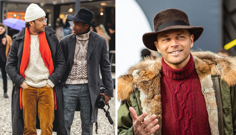 cable knits street style the rake