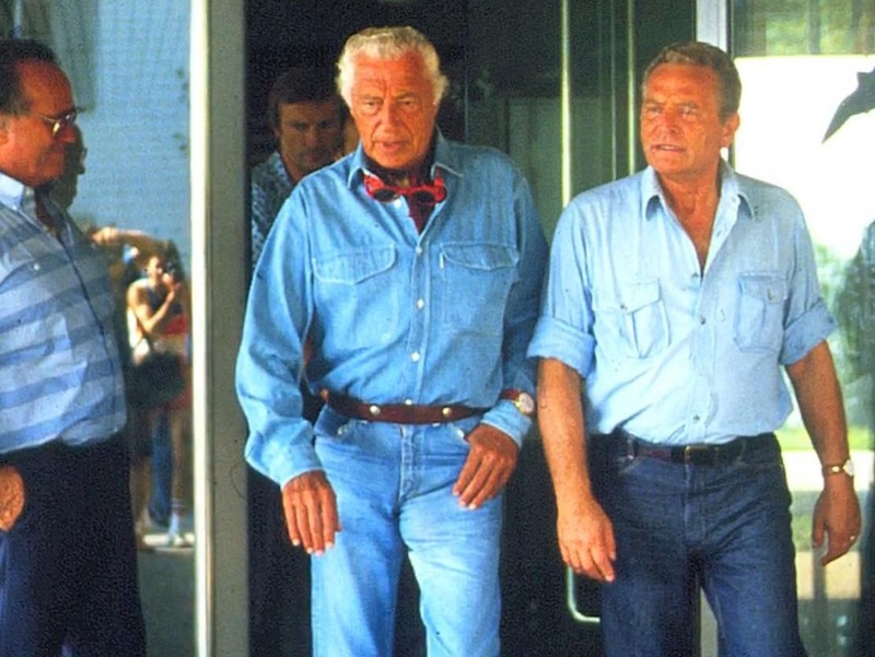 the rake, gianni agnelli, double denim