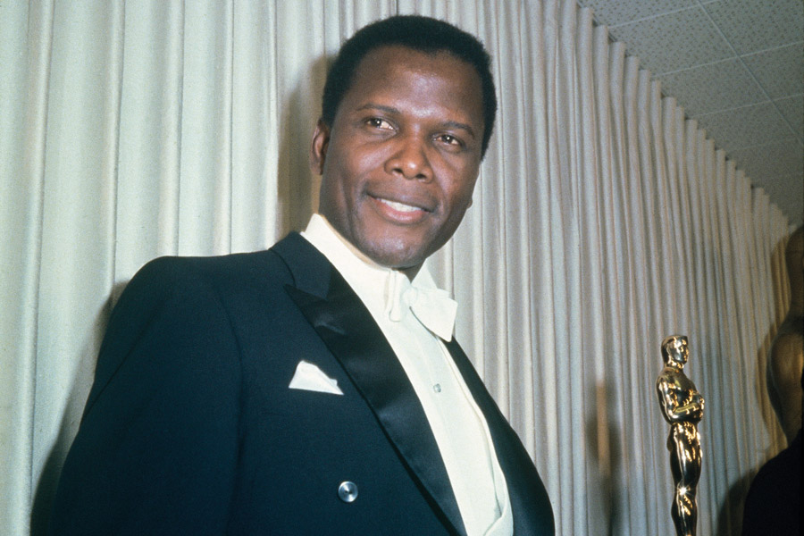 Sidney Poitier, The Rake, The Defiant Ones